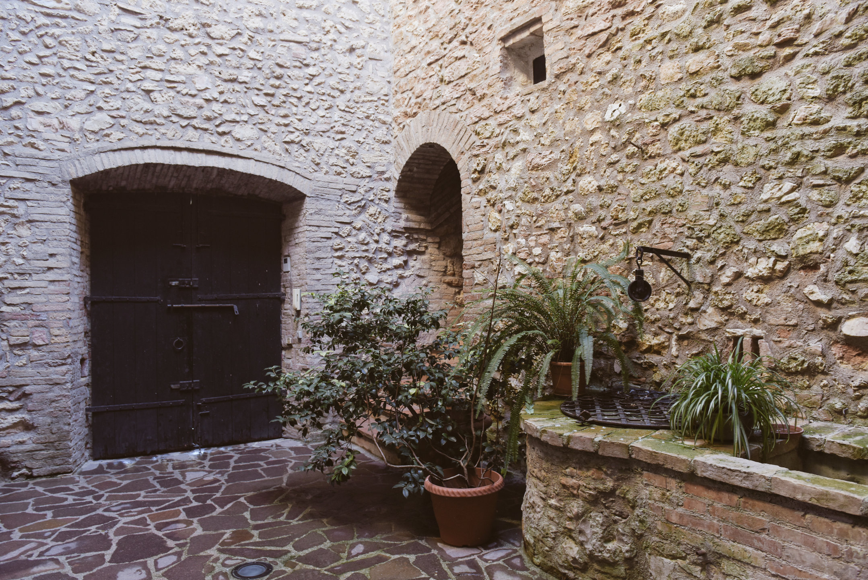 L'atrio della fortezza
